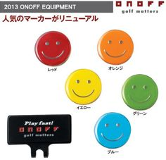 Golf Balls Ideas | ONOFF golf ball marker 2013 model colorGREEN from japan >>> Want additional info? Click on the image. Note:It is Affiliate Link to Amazon.