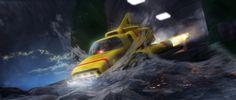 Into the scene... by Chrisofedf Fan Art / Digital Art / 3-Dimensional Art / TV & Movies