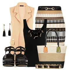 """""""Untitled #1668"""" by mrsdarlene on Polyvore featuring River Island, Twenty, Marc Jacobs, Lulu*s, Isabel Marant, MOOD and Gucci"""