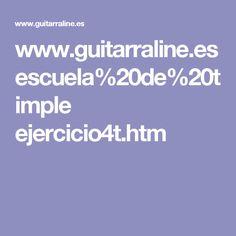 www.guitarraline.es escuela%20de%20timple ejercicio4t.htm