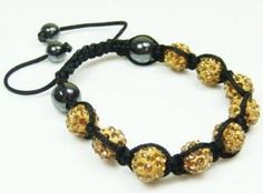 Crystal Shambhalla Disco Ball Bracelet