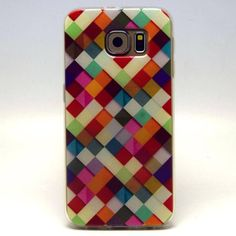 Soft TPU Silicone Case Geometric Pattern For Samsung Galaxy S6 G9200