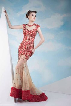 Lindos vestidos de moda   Colección Tony Chaaya