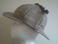 51e3751a63f Details about BRAND NEW Sherlock Holmes Deerstalker Hat - WOOL 59cm
