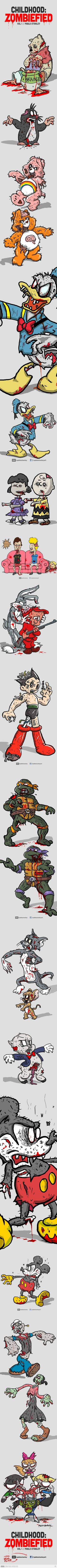 Childhood ruined... espically PPG's and TMNT!