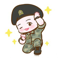 Exo Cartoon, Cartoon Art, Baekhyun Fanart, Exo Stickers, Exo Fan Art, Do Kyung Soo, Kpop, Taemin, Boy Groups