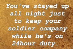 Haha, I've done this when he has SDO shifts. It's fun to bring him snacks at 2am :)
