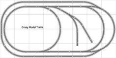 Layout #005 Bachmann HO EZ Track (NS) Nickel Silver - 4' X 8' NEW - Train Set