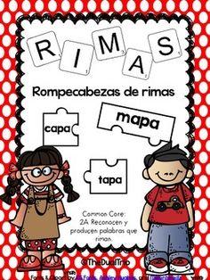 Rompecabezas de Rimas  (Rhyming Puzzles)