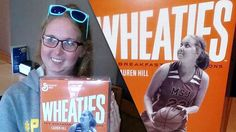 Days after making her college basketball debut, Mount St. Joseph freshman Lauren Hill got her own Wheaties box.