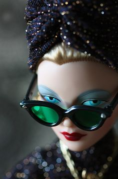 Gene Marshall Doll 1940s look