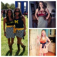 Custom One-of-a-Kind Gameday Dresses: Tube, Tank, Halter, One-Shoulder, Short-Sleeved ... Made from YOUR Favorite T-Shirt. $60.00, via Etsy.