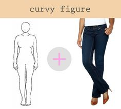how to find the perfect jeans for your shape if you have curves