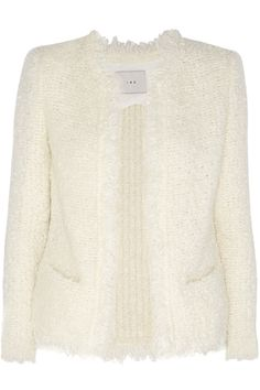 IRO Coffey Bouclé Jacket. #iro #cloth #jacket
