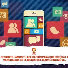 ¿Aún no tienes tu aplicación móvil? ¿Te piensas quedar atrás? #EMD #MarketingDigital #AppsMóviles