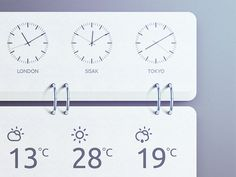 World Time Widget