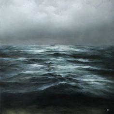 """Something Has Changed"" - Adam Hall painting"