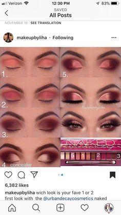 Augen Make-up – auge makeup makeupsecrets makeupse – - makeup tutorial Neutral Eye Makeup, Dramatic Eye Makeup, Purple Eye Makeup, Eye Makeup Steps, Cat Eye Makeup, Colorful Eye Makeup, Eye Makeup Remover, Prom Makeup, Wedding Makeup