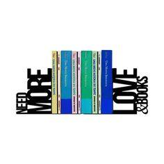 Aparador de Livros Love and Books