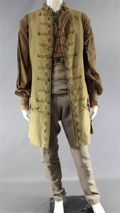 BLACK SAILS RACKHAM TOBY SCHMITZ SCREEN WORN PIRATE COSTUME EP 302