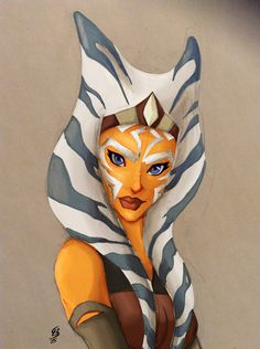 Love this fanart. Snpis is back! Ahsoka lives!