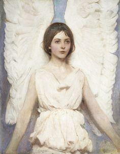 """""""Angel"""" (1887) by Abbott Handerson Thayer"""