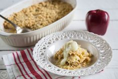image Desert Recipes, Cereal, Muffins, Oatmeal, Cheesecake, Deserts, Ice Cream, Apple, Cookies