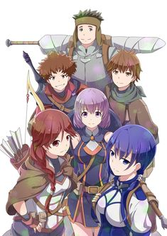 Hai to Gensou no Grimgar o Grimgar of Fantasy and Ash (Acción, Aventura, Drama, Fantasía, Anime Invierno 2016)