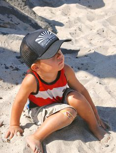 5ce4a96ccf1 Kids Trucker Hats Infant   Toddler RISING SUN by GromSquad on Etsy Little  Man Style