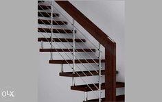 Balustrady nierdzewne schody zabiegowe barierki inox  Zajmujemy się produkcją oraz montażem balustrad ,poręczy i schodów ze stali nierdzewnej  W naszych wyrobach łączymy stal nierdzewną z drewnem ...