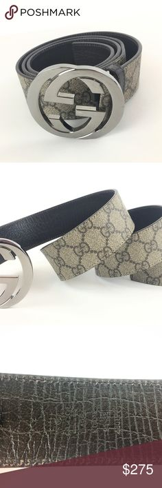 83c7f3113a2 Gucci 114984 Belt With Interlocking G s SZ 38. Tie ClipGucciStylishBeltBeltsTie  PinArch. Spotted while shopping on Poshmark  ...