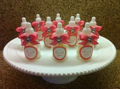 Baby shower favors / baby bottles / candy favors