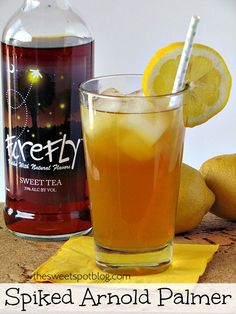 Sweet Tea Cocktails: Spiked Arnold Palmer by The Sweet Spot Blog #kentuckyderby #partydrinks #sweetteavodka
