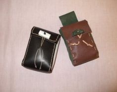 For the true cowgirl hand made leather cigarette by mandwleather