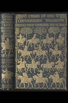 Tales of the Canterbury Pilgrims Chaucer  Wells Gardner 1906