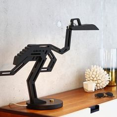 Dodo. A Dead Bird Desk Lamp