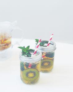 Juices And Cakes: Thé glacé maison pêche x ananas x myrte citronnée ...
