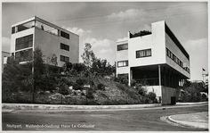 Weissenhofsiedlung  le corbusier