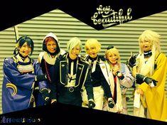 画像に含まれている可能性があるもの:6人、立ってる(複数の人) Stage Play, Touken Ranbu, Plays, Musicals, Fan Art, Cosplay, Cute, Anime, Beauty