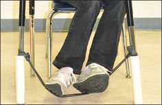 Super easy to make Bouncy Bands. Great for students with ADHD or for any student who just needs to move.