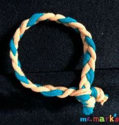 Kids can make these simple bracelets that can be shared with their friends. Plus, it can be made from recycled t-shirts. #kidmin #friendship #Friendship Bracelets #RecycledT-shirts #MrMarksClassroom Band of Friendship | Mr. Mark's Classroom #Friendship #KidMin #KidsCraft #MrMarksClassroom Recycled T Shirts, Old T Shirts, Mission Projects, Top Braid, Simple Bracelets, Coordinating Colors, Friends In Love, Kids Ministry