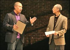 Yellow Face by David Henry Hwang in NYC.
