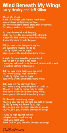 Hollye Jacobs, Breast Cancer Survivor - Quotes & Inspiration - Musical Monday: Wind Beneath My Wings