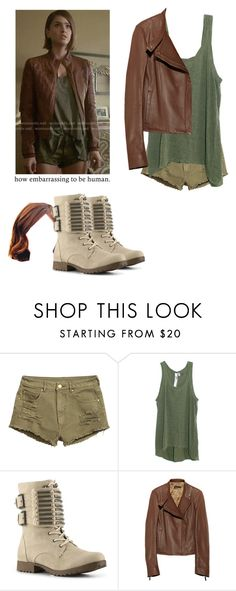 """""""Malia Tate - tw / teen wolf"""" by shadyannon ❤ liked on Polyvore featuring Wilt, Not Rated and The Row"""