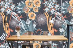 Custom Designed Veld and Sea Wall Art for your home and business. Wall Papers, Wall Design, Custom Design, Sea, Wall Art, Floral, Pattern, Wallpapers, Flowers