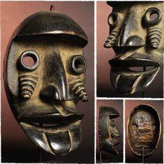 アフリカ【仮面】ダン族マスク
