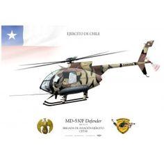 """MD530F """"Defender"""" H-133 Chile JP-1219"""