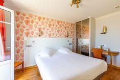 Chambre double confort vue sur mer  Hôtel Kyriad St Malo Plage