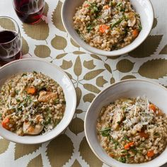 One-Pot Recipe: Gail Simmons's Chicken and Barley Stew with Dill and Lemon | Shine Food - Yahoo Shine