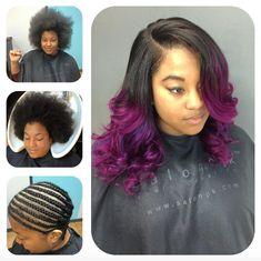 Nice sew in by @lisavirgo  Read the article here - http://blackhairinformation.com/hairstyle-gallery/nice-sew-lisavirgo/